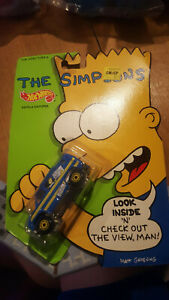 Hot Wheels THE SIMPSONS FAMILY CAMPER Diecast Toy SEALED Vintage 1990 Mattel New