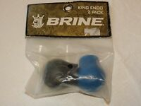 Brine 2 pack Lacrosse endos King logo ENDO women's royal black NOS NEW old stock