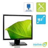 "Acer V193 18.5"" 1280x1024 5:4 LCD TFT Monitor VGA Grade B"