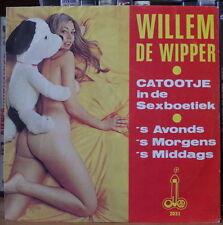 WILLEM DE WIPPER CATOOJE IN DE SEXBOETIEK SEXY NUDE COVER HOLLAND SP OJEE 1974