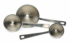 RSVP Mini Funnel Set Of 3 Herb Spice Bottle Filler Kitchen 18/8 Stainless Steel