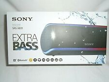 Sony SRS-XB31 Wireless Speaker Extra Bass - Black
