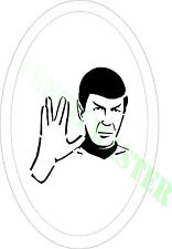 SPOCK Star Trek STENCIL  Size - 65mm each