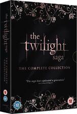 THE TWILIGHT SAGA Complete 1 2 3 4 5 Film Collection Boxset DVD NEW UK (Not US)