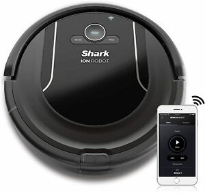 SHARK ION Robot Vacuum R85 WiFi-Connected Voice Control w/ Alexa Self-Cleaning
