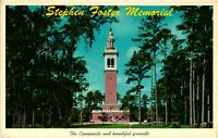 Vintage Postcard - Stephen Foster Memorial White Springs Florida FL Posted #1012