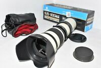 Canon EOS DSLR DIGITAL fit 420 800mm zoom lens 1200D 1300D 2000D 4000D REBEL ++