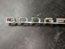 1958 Dodge truck hood name emblem