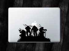 TMNT Sticker Turtles Ninja Decal Apple MacBook Mac iPad Laptop Window Car