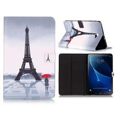 FUNDA PROTECTORA motivo 81 para Samsung Galaxy Tab A 10.1 T580 T585 CARCASA
