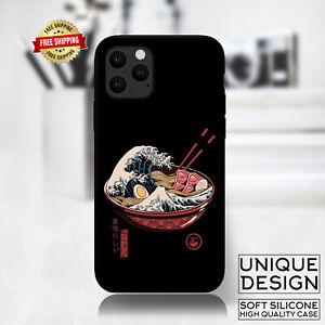 Great Ramen Wave Japan Phone Case Samsung Galaxy S10 S9 Huawei iPhone Case Gift