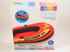 INTEX Explorer 200 Inflatable Pool Lake Boat Water Raft 2 Person Row Kayak HUGE