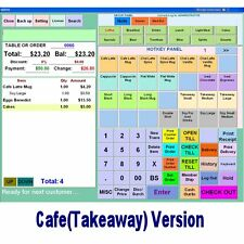 SAXPOS Point of Sale Software POS Takeaway-Cafe, Fish & Chips, Pizza, Kebab Shop