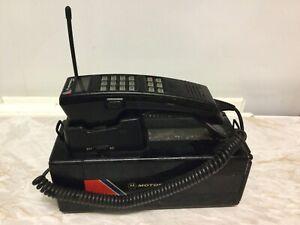 motorola 4800x vintage 1980s brick mobile phone. Untested