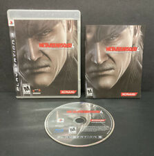 Metal Gear Solid 4: Guns of the Patriots (Sony PlayStation 3, 2008) PS3 Complete