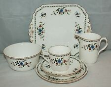 Shelley - Chelsea /11280 - Complete 21 piece tea service for 6 - Vintage/retro