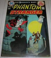 PHANTOM STRANGER #33 (DC Comics 1974) DEADMAN cover / story (FN+) Mike Grell art