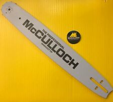 "McCulloch Chainsaw 16"" Sprocket Nose Bar .050 GA .375 Pitch #225116"
