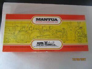 Mantua, HO, 510, 1880 12-Wheel & Tender 4-8-0 Kit, Mint in OB.