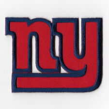 New York Giants Iron on Patches Embroidered Badge Patch Applique Red Emblem FN