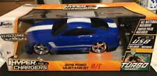 Hyperchargers - Radio-Control Car - Blue/Black/White- 2015 Ford Mustang GT