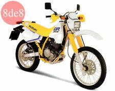 Manual de taller de motor DR Suzuki