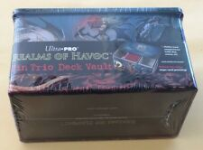 Ultra Pro Stock #84470 Realms Of Havoc Tin Trio Deck Vault BRAND NEW