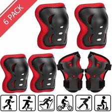 3 in 1 Kids/Youth Knee Pad Elbow Pads Wrist Guards Protective Gear Set