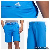New Adidas Ultimate 365 Mens Golf Shorts-True Blue- Multiple Sizes