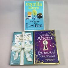 3 x Cecelia Ahern Books The Gift The Book of Tomorrow The Year I Met You Bundle