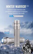 Olight Warrior Mini - Winter Ti Limited Edition- Titanium Tactical Flashlight