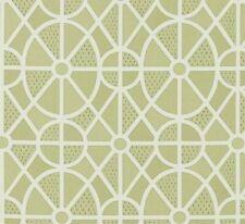 """SANDERSON CURTAIN FABRIC DESIGN  """"Garden Plan"""" 3.1 METRES GARDEN GREEN"""