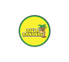 Balla Bananas Cali Tin Labels Slaps Stickers