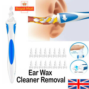 Ear Wax Cleaner Smart Removal Soft Swab Spiral Earwax Remover Safe Earpick Tool