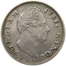 INDIA BRITISH RUPEE 1835 F WILLIAM IV. #t90 475