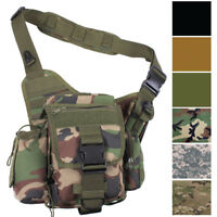 Advanced Tactical Hipster Sling Cross Body Bag Messenger MOLLE Camo Travel Pack