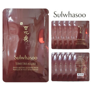 Sulwhasoo Timetreasure Invigorating Sleeping Mask 4ml (10pcs~100pcs) Newist Ver