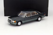 NOREV 1985 Mercedes Benz 560 SEL W126 Dark Green (Rare Dealer Edition) 1:18*New!