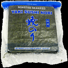 50 sheet Tokyo Nori Roasted Seaweed Yaki Sushi Nori 4.4oz Fast Free Usa Shipping