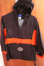 CLEVELAND BROWNS youth small windbreaker Reebok size 8 football retro 2003 logo