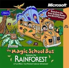 Magic School Bus Explores The Rainforest  (PC, 1998) NEW - FREE SHIPPING