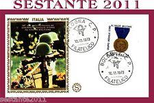 ITALIA FDC FILAGRANO GRUPPO MEDAGLIE D'ORO 1973, ANNULLO BOLOGNA B9