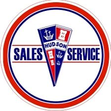 Vintage Hudson Sales and Service Decal - The Best!!
