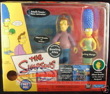 Simpsons Bowling Alley Playset with Jacques and Bowling