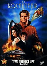 Nazi Spies Mobsters Pilots an Actress Disney's Drama Thriller The Rocketeer DVD