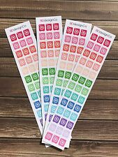39 Laundry Washing Maching Stickers for Various Types of Planners (#147)