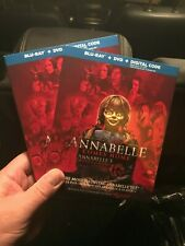 Annabelle Comes Home  - BLU-RAY +DVD+ DIGITAL+SLIPCOVER - Brand New!