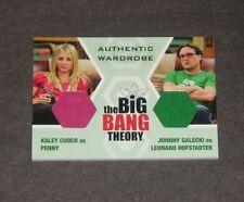 The Big Bang Theory Seasons 6 & 7 Dual Wardrobe Card DW2 Penny & Leonard