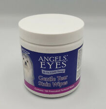 Angels' Eyes Gentle Tear 100 Presoaked Textured Stain Wipes Dogs And Puppies