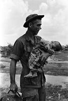 Photo guerre du Vietnam soldats us américains format 10x15 cm n405